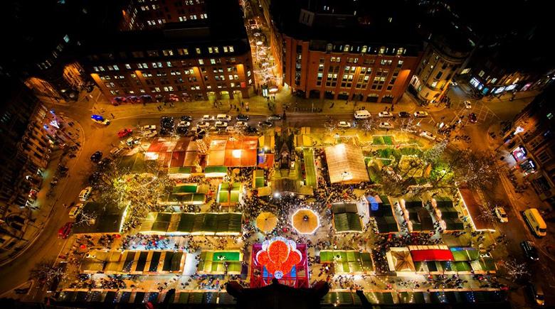 Weihnachtsmarkt Manchester