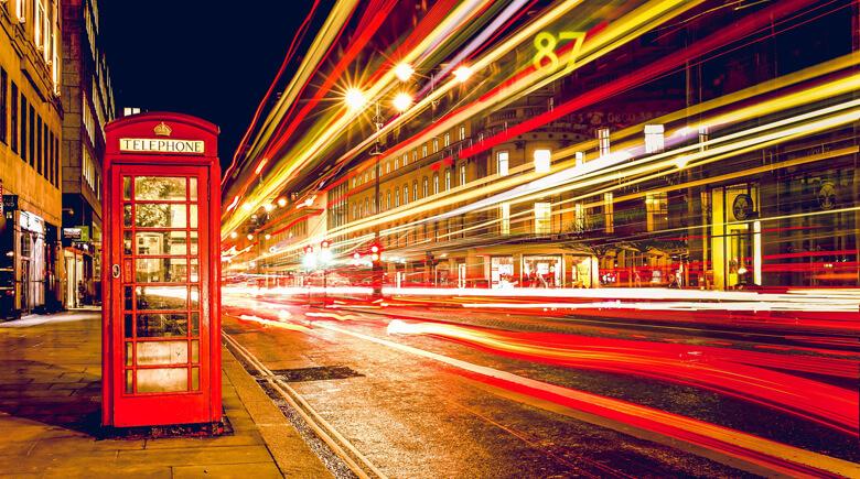 britische Telefonzelle