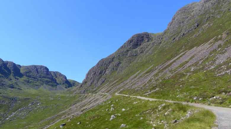 Anreise Highlands