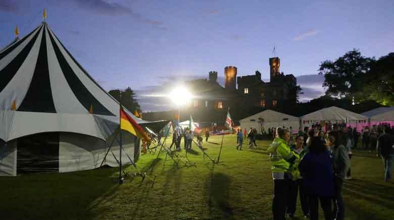 Musik beim Hebridean Celctic Festival