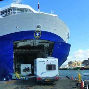Anreise per DFDS Fähre