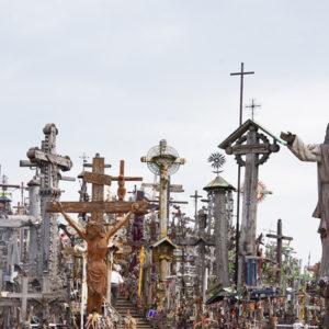 Berg der Kreuze in Litauen