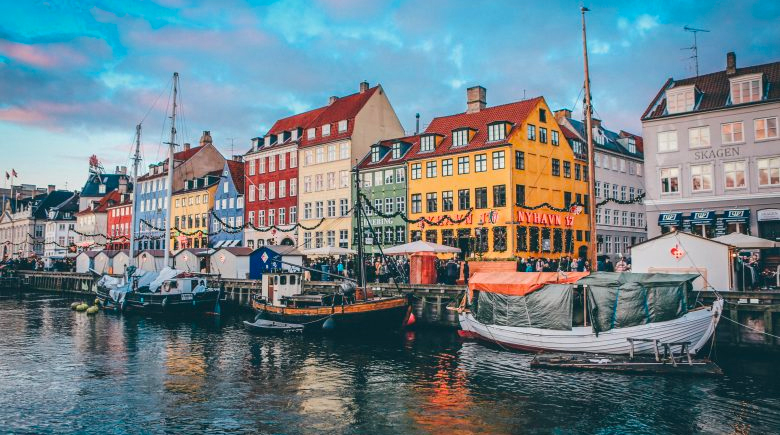 Häuserfassade in Nyhavn
