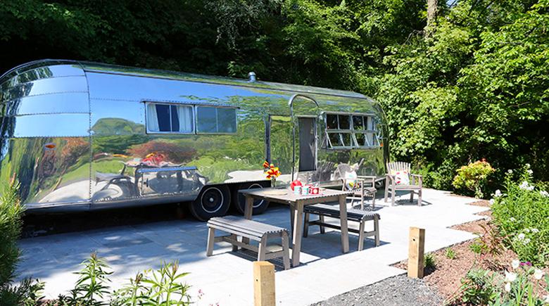 Camper in Südengland