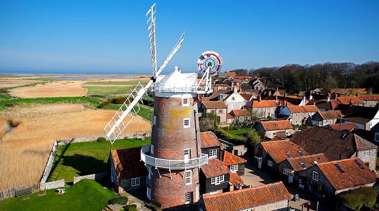 Windmühle in Norfolk