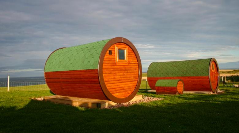 Hobbit Häuser in Aberdeenshire