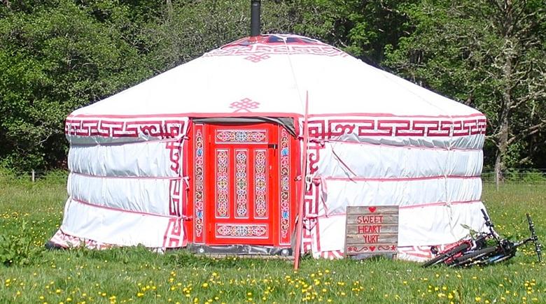 Zelt in Fort William