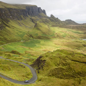 The Quiraing auf der Isle of Skye
