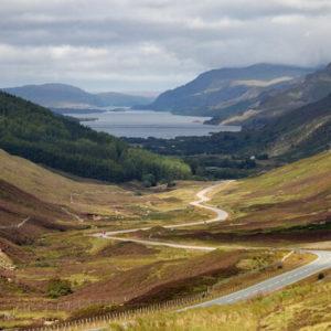 Panoramastraße auf der Isle of Skye