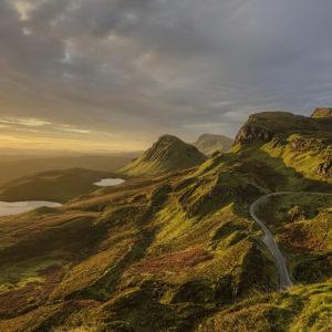 Panoramastraße in Schottland