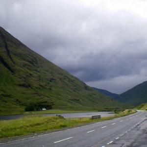 Tal Glencoe in Schottland