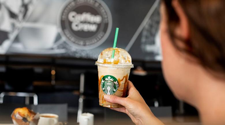 Starbucks Kaffee bei DFDS