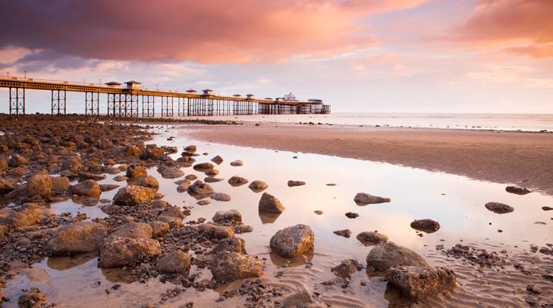 Llandudno Pier Wales Visit Britain