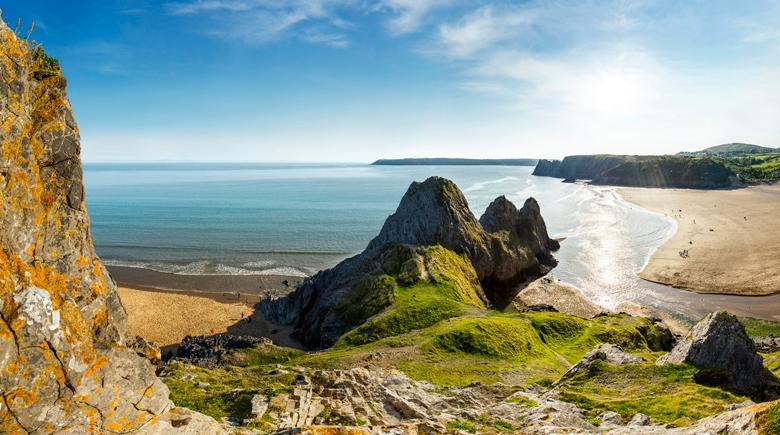 Three Cliffs Visit Britain