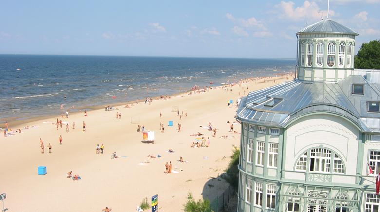Jurmala strand latvia travel